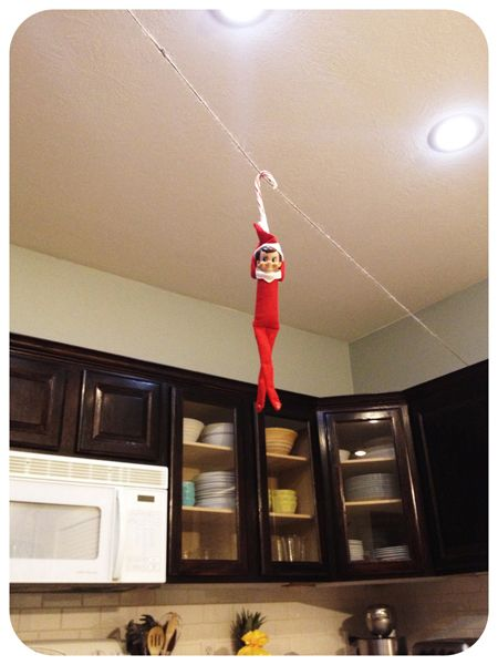 Elf on the Shelf - Feats of daring