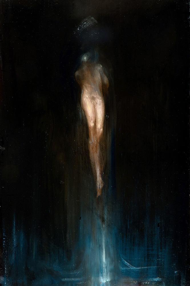 studio per il secondo martirio di San Sebastiano . olio su legno