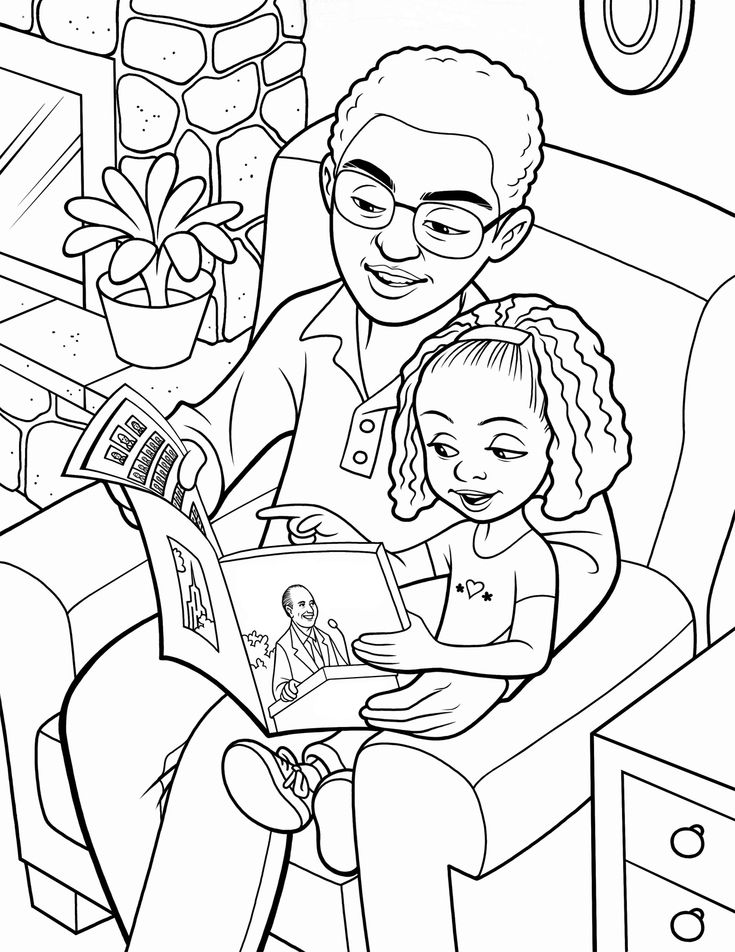 father's day coloring pages for church