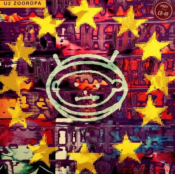 . U2 Zooropa  online at www.backtovinyls  #u2   #poprock   #electropop   #vinyls   #music
