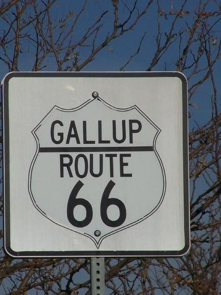 Gallup New Mexico Road Sign | Gallup, NM : Gallup Route 66 Sign photo, picture, image (New Mexico ...
