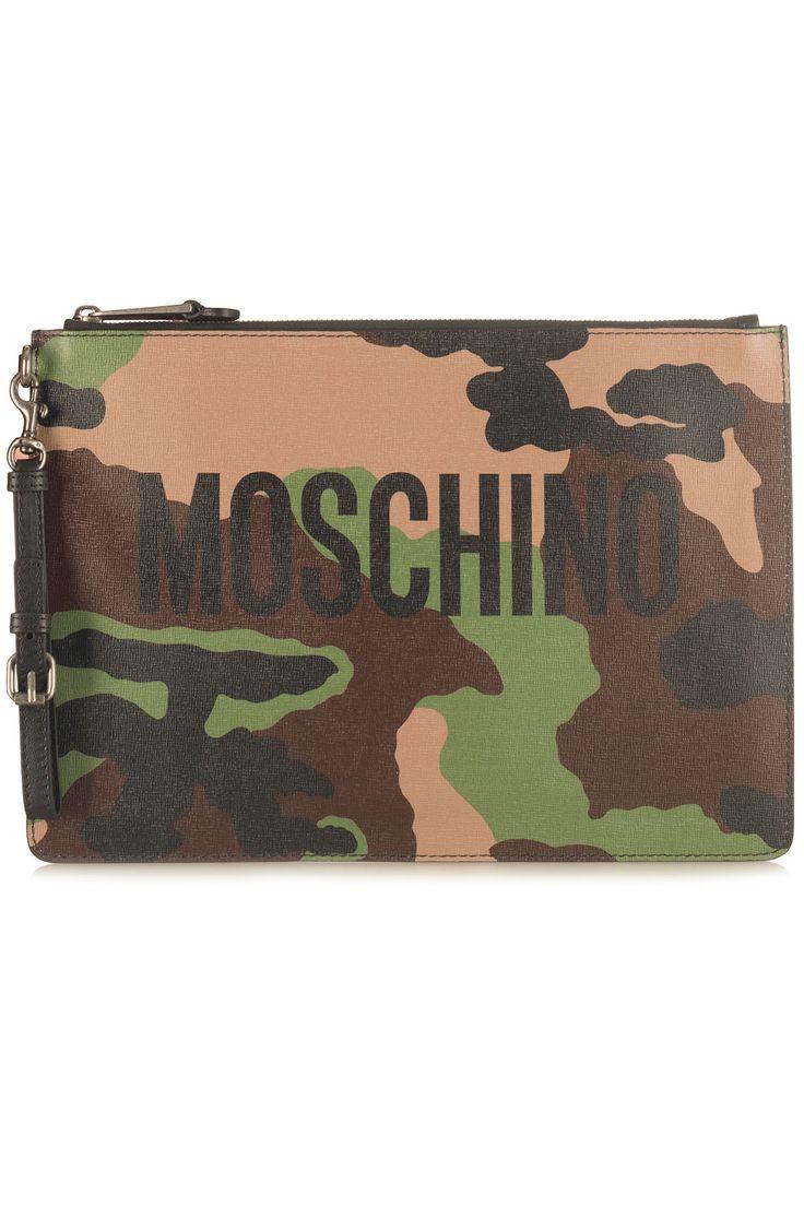 Moschino Clutch Camouflage