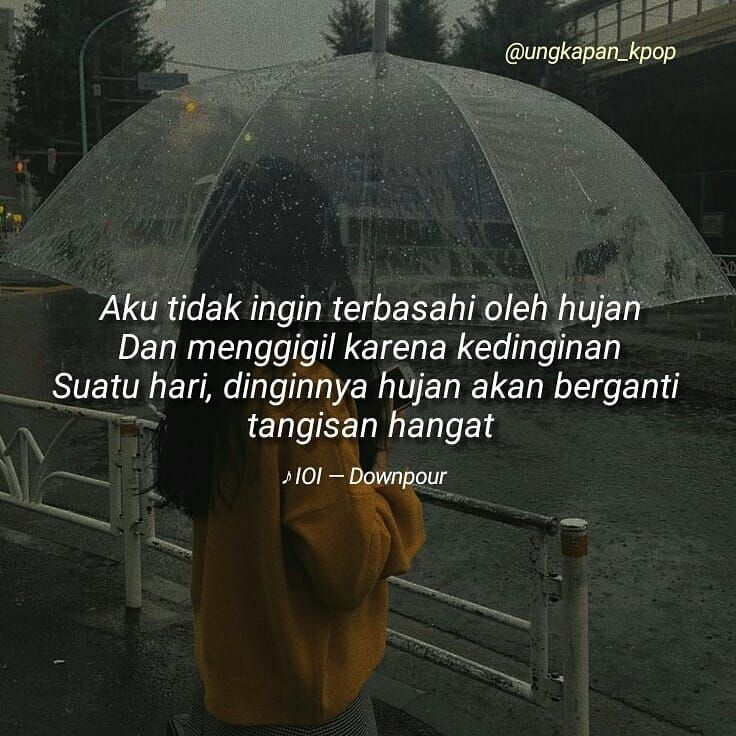 kutipan lirik lagu korea di instagram req ioi downpour