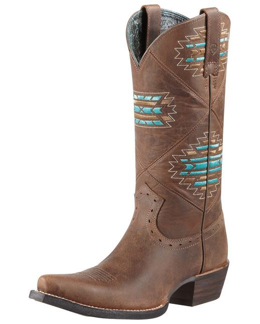 Ariat Women's Cheyenne Cowgirl Boot - Distressed Brown http://www.countryoutfitter.com/products/30446-womens-cheyenne-boot-distressed-brown