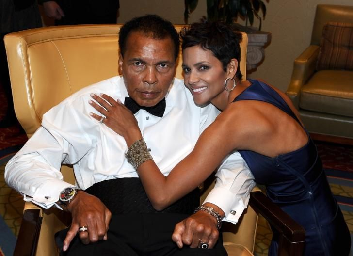 Muhammad Ali and honoree Halle Berry attend Muhammad Ali's Celebrity Fight Night…                                                                                                                                                                                 More