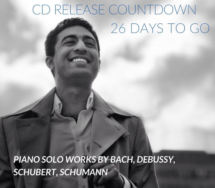 Cd Release Countdown 26 days to go! Classical piano