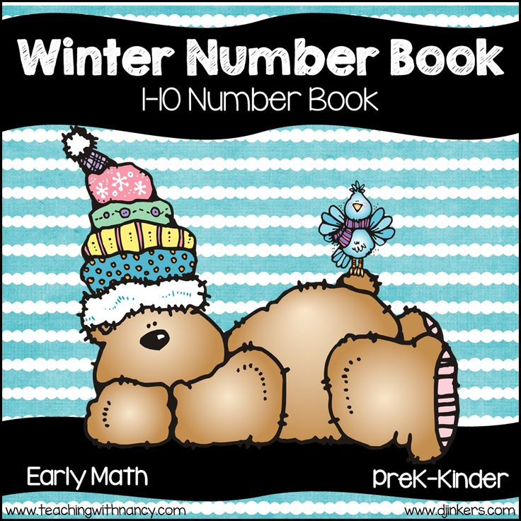 Welcome to Teaching with Nancy!  Your students are going to love practicing reading, writing and identifying the numerals from 1-10 with this fun winter number book.  LANGUAGE: English  GRADE(S): Prekindergaten Kindergarten  SKILLS: Numbers 1-10 Tally Marks Ten Frames Numbers Sets Writing Numbers Identifying Numbers