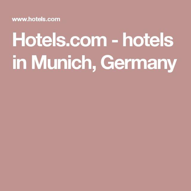 Hotels.com - hotels in Munich, Germany