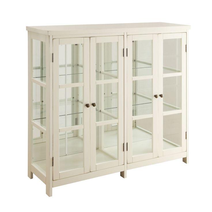 Coaster Company 4-door Display Cabinet