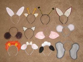 Ashley's Craft Corner: Sheep Ears Template