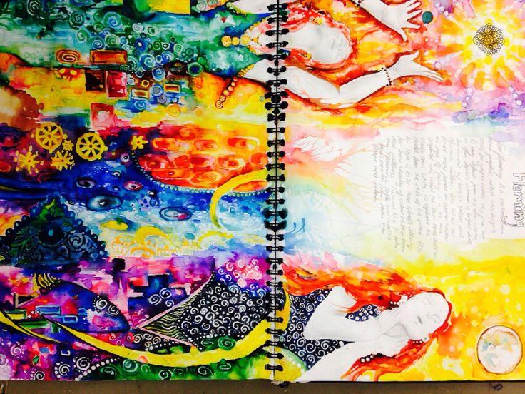 Year 12 sketchbook