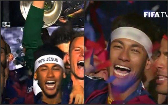 """La FIFA TV censura el 100% Jesús de Neymar """"por respeto"""". ¿No es faltar al respeto de Neymar y de los millones de cristianos aficionados? Pide disculpas inmediatas"""