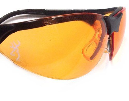 Browning Claymaster Shooting Glasses, Orange, Yellow, Smoke, Clear, Blue 12715