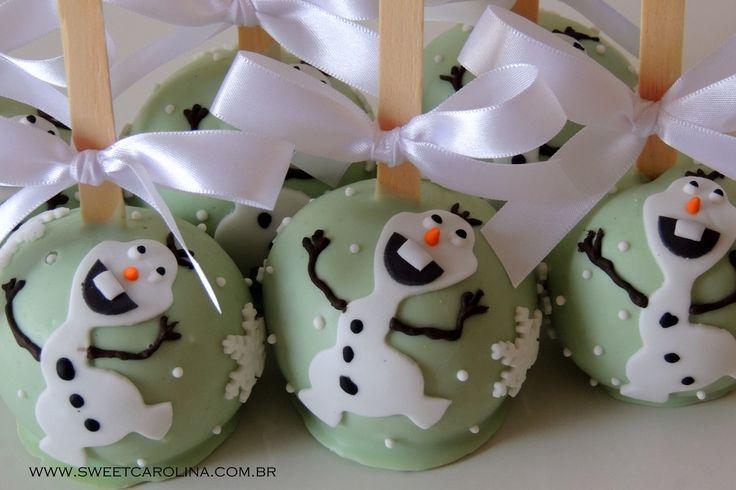 Maças do Amor - Frozen!