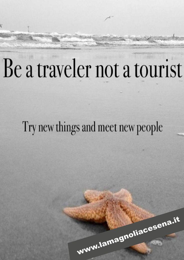 Be a Traveller