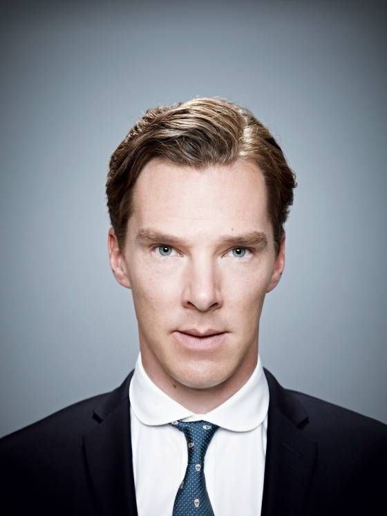 """Benedict Cumberbatch as featured in 5/2013 issue of New York magazine.  The article has photos of Ben  in various roles.  Ben has the ability to disappear into each role.  As but one example:  Benedict in the wonderful """"Hawking"""" movie looks nothing like Benedict as Julian Assange (Wikileaks) in the soon-to-be-released """"The Fifth Estate,"""" and nothing like Benedict as Sherlock."""