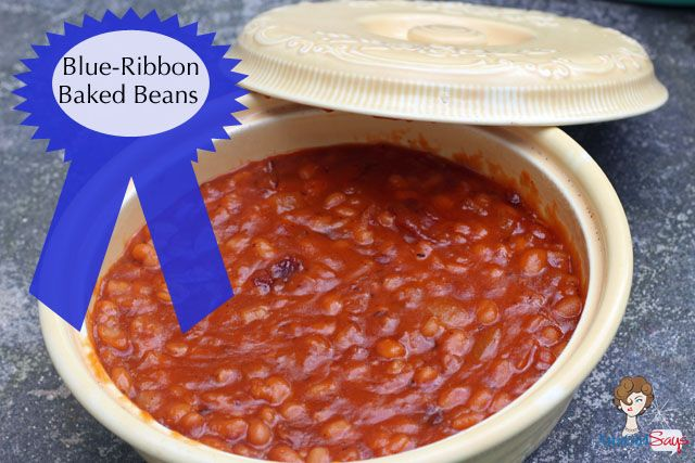 #yearofcelebrations Yummy recipe for your family get-togethers! Atta Girl Says: Blue Ribbon Baked Beans Recipe