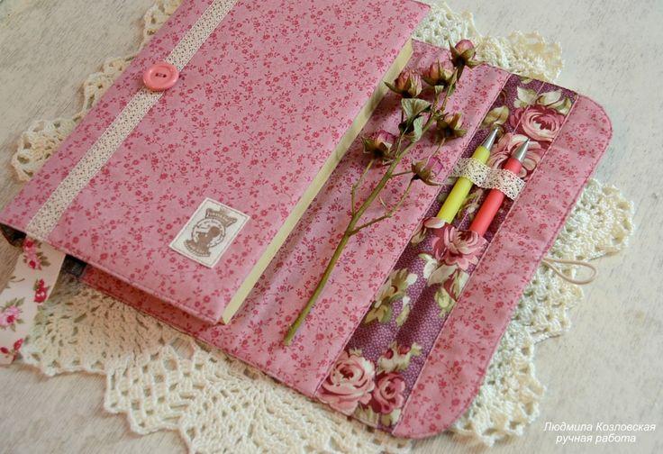 Lusi всё возможно: Цветочный венок и обложки на блокноты
