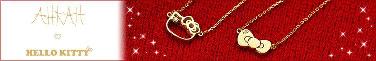 AHKAH × Hello Kitty Gold jewelry