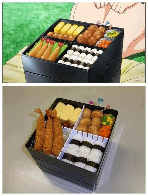 25 best ideas about anime bento on pinterest kawaii bento bento food and japanese food art. Black Bedroom Furniture Sets. Home Design Ideas