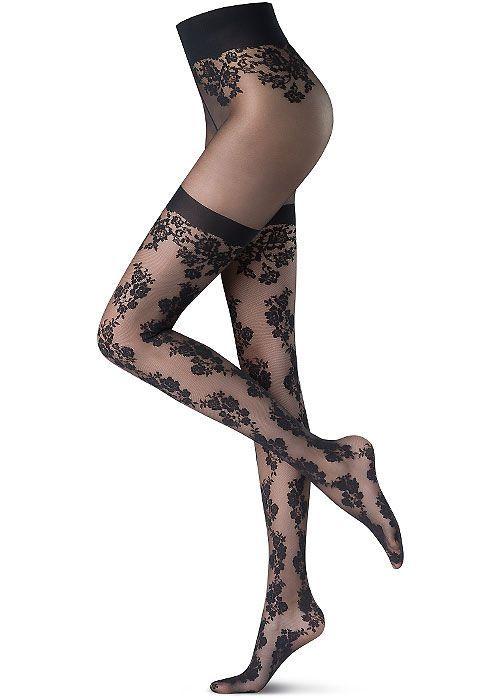 119af264592 Oroblu Flower Gentian Tights. Oroblu Flower Gentian Tights Garter Belt And  Stockings ...