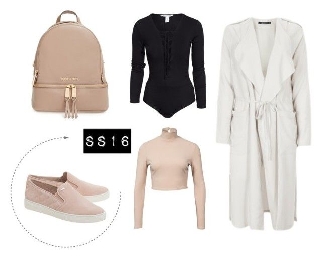 SS16 by iffmann on Polyvore featuring NLY Trend, MICHAEL Michael Kors, women's clothing, women's fashion, women, female, woman, misses and juniors