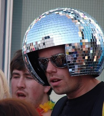 how to make a disco ball spin