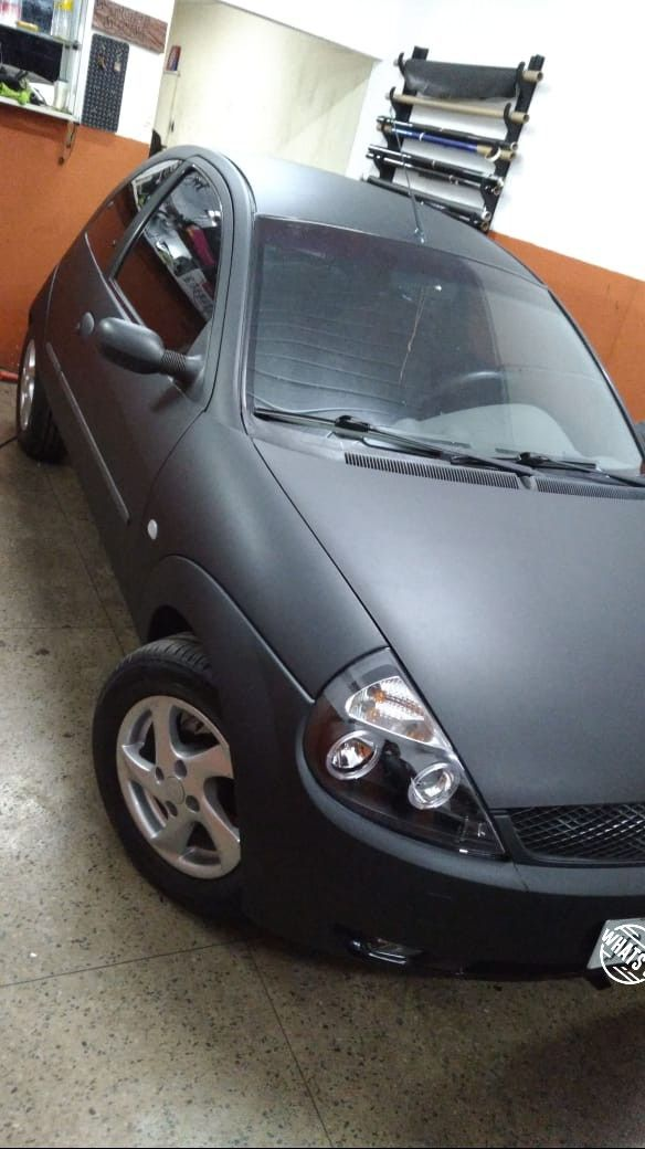 Ford Ka Envelopado Angel Eyes Carros Ford Motos