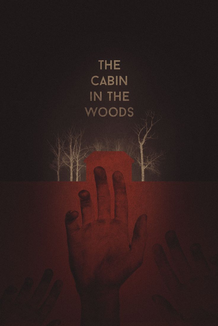 The Cabin in the Woods - movie poster - Stain Girl