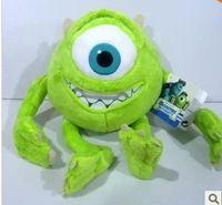 Monsters Inc Mike Wazowski brinquedo 25 cm de altura universidade Wazowskidoll brinquedo de pelúcia e hobbies bichos de pelúcia e pelúcia