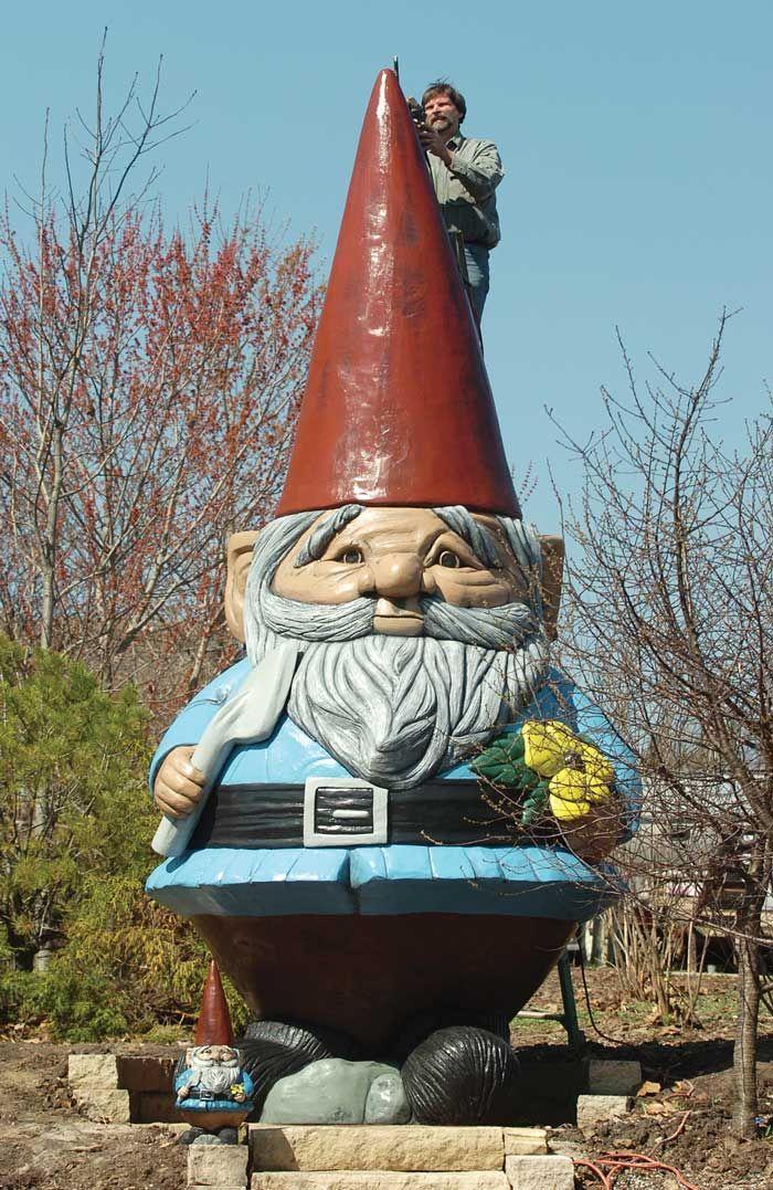 Must go see, Brent! World's Largest Garden Gnome :: Reiman Gardens  Ames, Iowa 50011