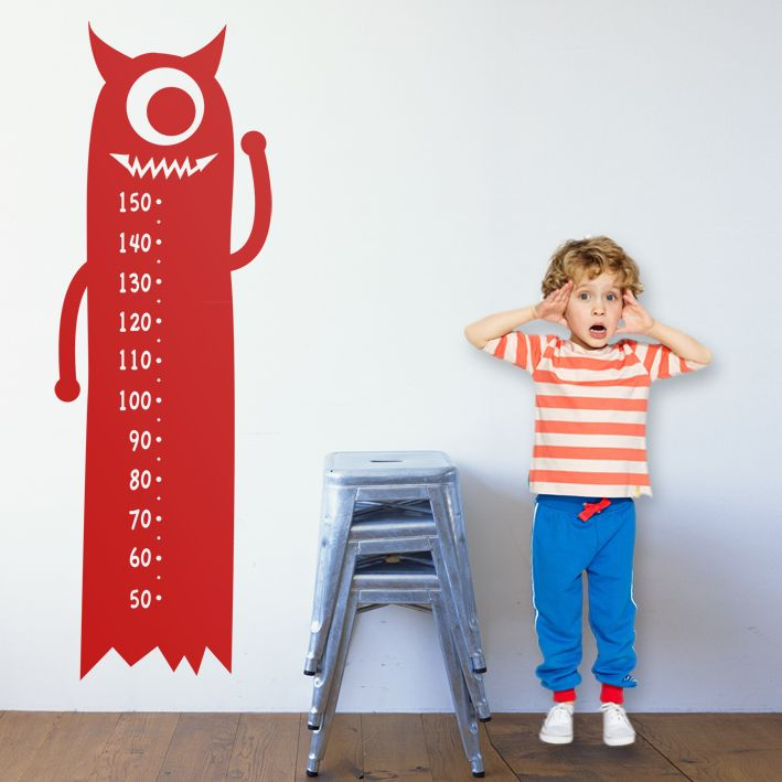 14.Monstruito 1 Medidas: 55x166 cm Precio: 70 € Nota: Este diseño se colocará a una altura de 29 cm desde el suelo, para que se corresponda con la medida real del medidor.