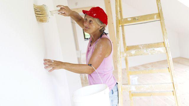 Wände richtig streichen: Mit diesen Tipps kein Problem