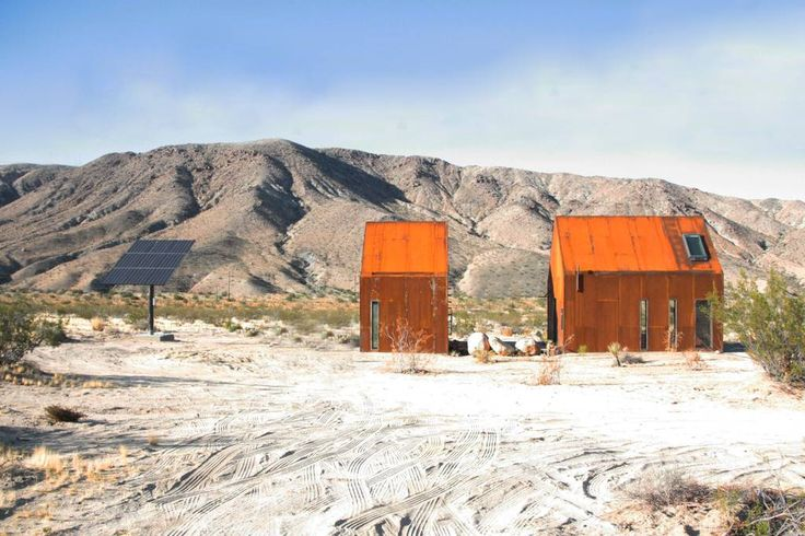 Entire home in Twentynine Palms, United States. The Joshua Tree Folly, is distinctive, and reflects the world's most unique landscape. This retreat pushes the limits of both indoor-outdoor living with an emphasis on entertaining discerning travelers enveloped in an innovative minimalistic desig...