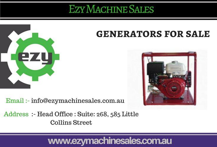 New GENELITE GENERATOR 7.2KVA E/START 13HP HONDA for sale