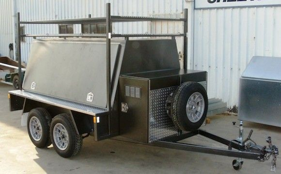 Tool Trailer Trailers Pinterest Utility Trailer And