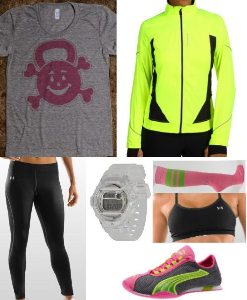 I was looking for colourful running shoes but this site has tones of active wear ideas :) http://findgoodstoday.com/trainingequipment