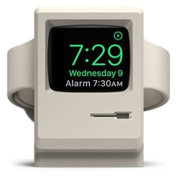 elago W3 STAND Apple Watch 充電 スタンド Series 3 / Series 2 / series 1 対応 シリコン スタンド [ アップルウォッチ 38mm / 42mm 各種対応 ] クラシックホワイト