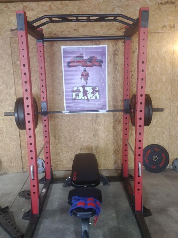 Rack Bench Bar And Bumpers Home Gym Design Home Gym Set Home Gym