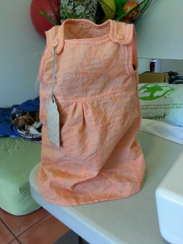 Orange dress for Mariola