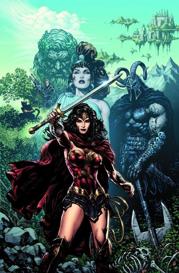 """MUJER MARAVILLA # 1 Por qué el lazo de la verdad ha dejado de funcionar para la princesa amazónica?  Comience por la madriguera del conejo como oscuros secretos del pasado de la Mujer Maravilla de desentrañar su presente!   Ellos lo dijeron: """"El dibujo de la Mujer Maravilla no sólo está dibujando un cómic, es un icono de dibujo-la más famosa y reconocible superhéroe femenina en el mundo"""","""