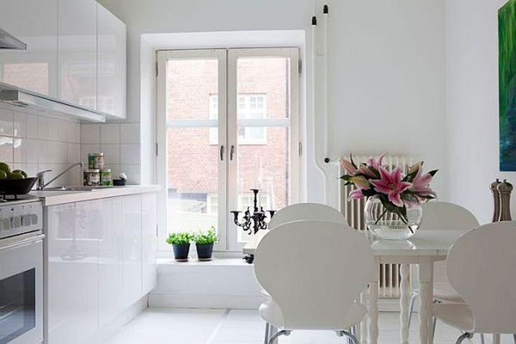 Architecture Swedish Interior Ideas In White Color Kitchen Swedish Design House