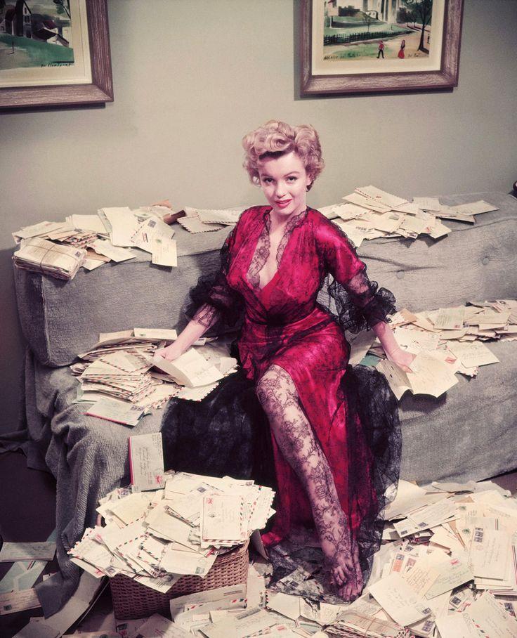 Marilyn Monroe In Lace
