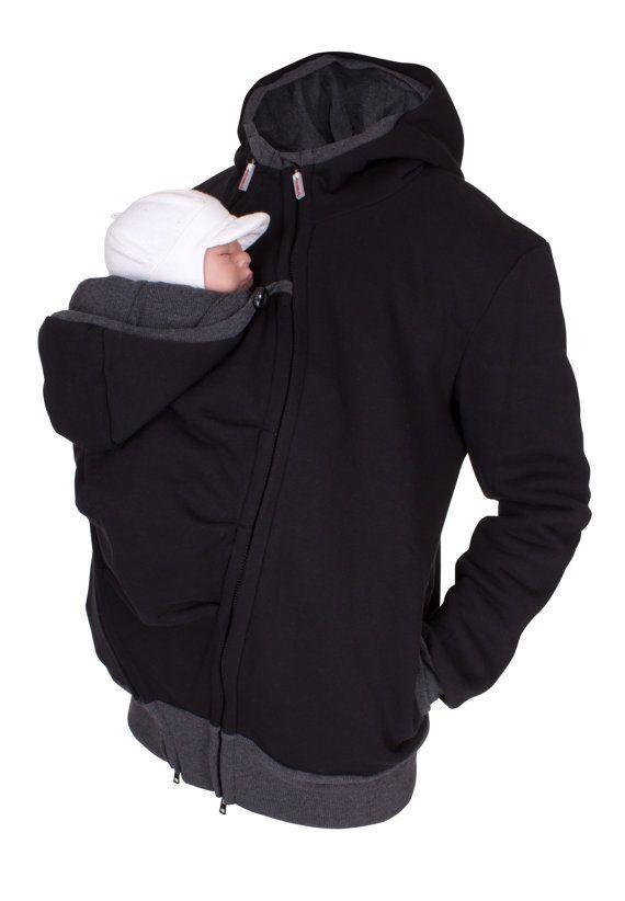 Hombre que llevaba chaqueta padre y bebé por VivalaMamaBerlin