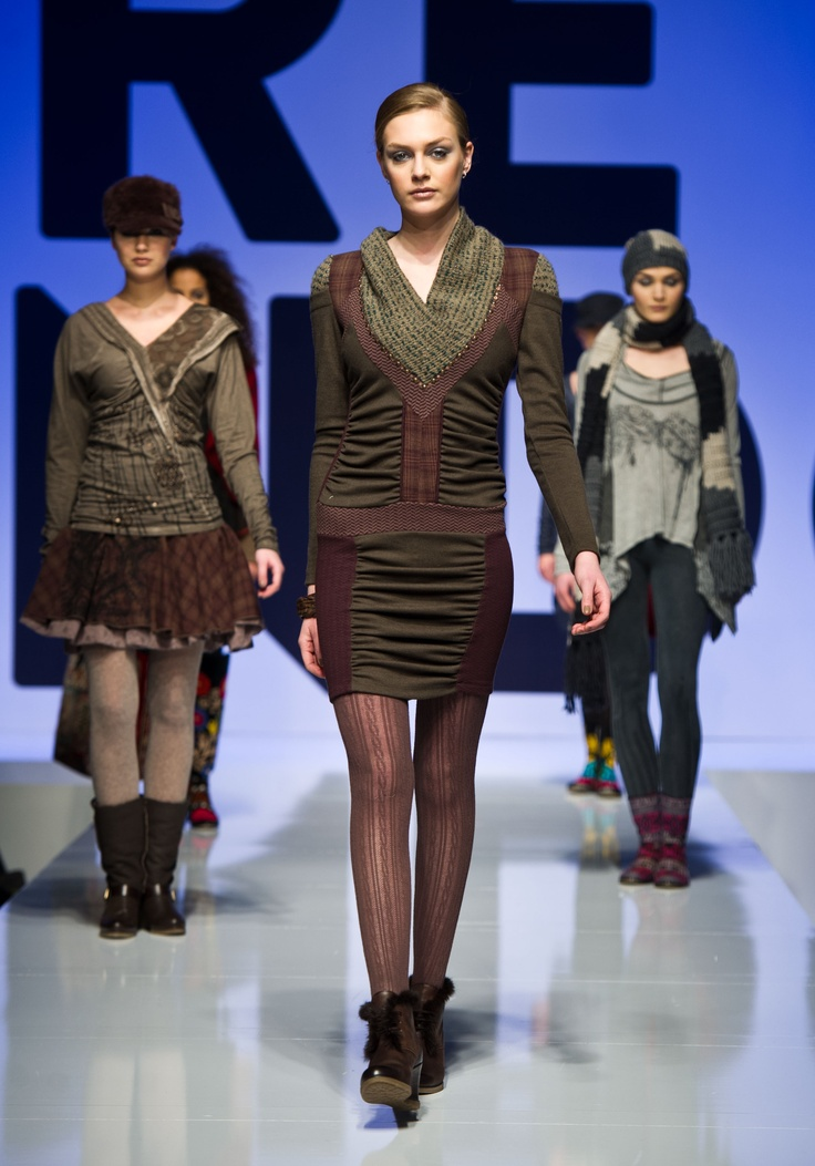 2013 Fall Winter Collection at Pure London stage