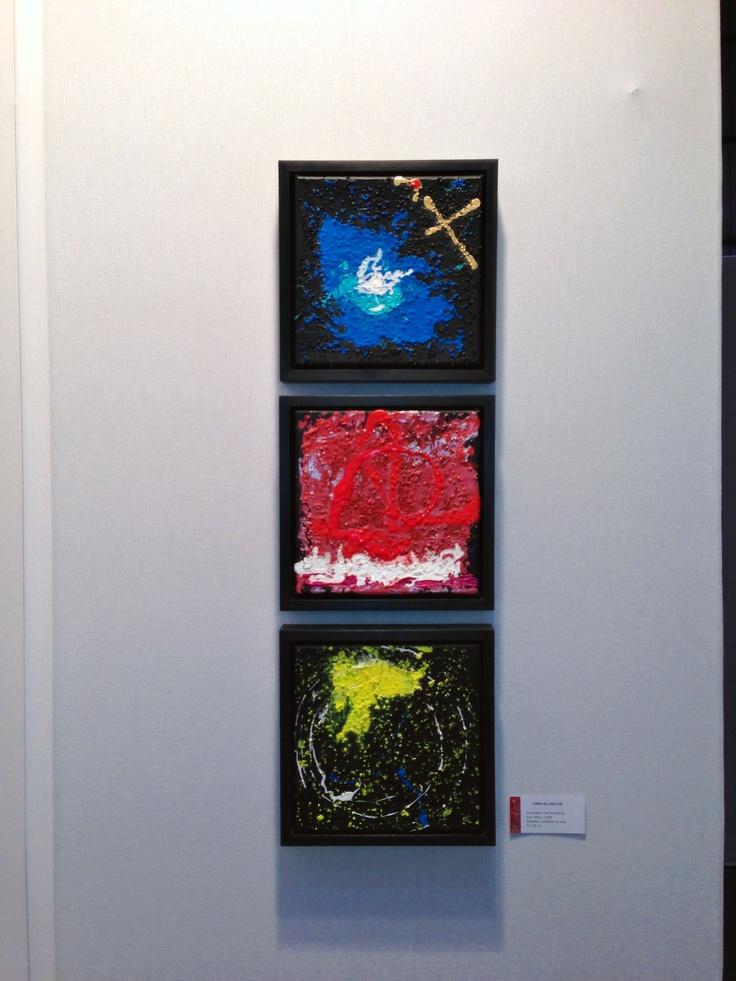 'Earth, Sun, Moon ~ Homage To Neil Armstrong' ~ Lille Art Fair 2013 ~ Chris Billington