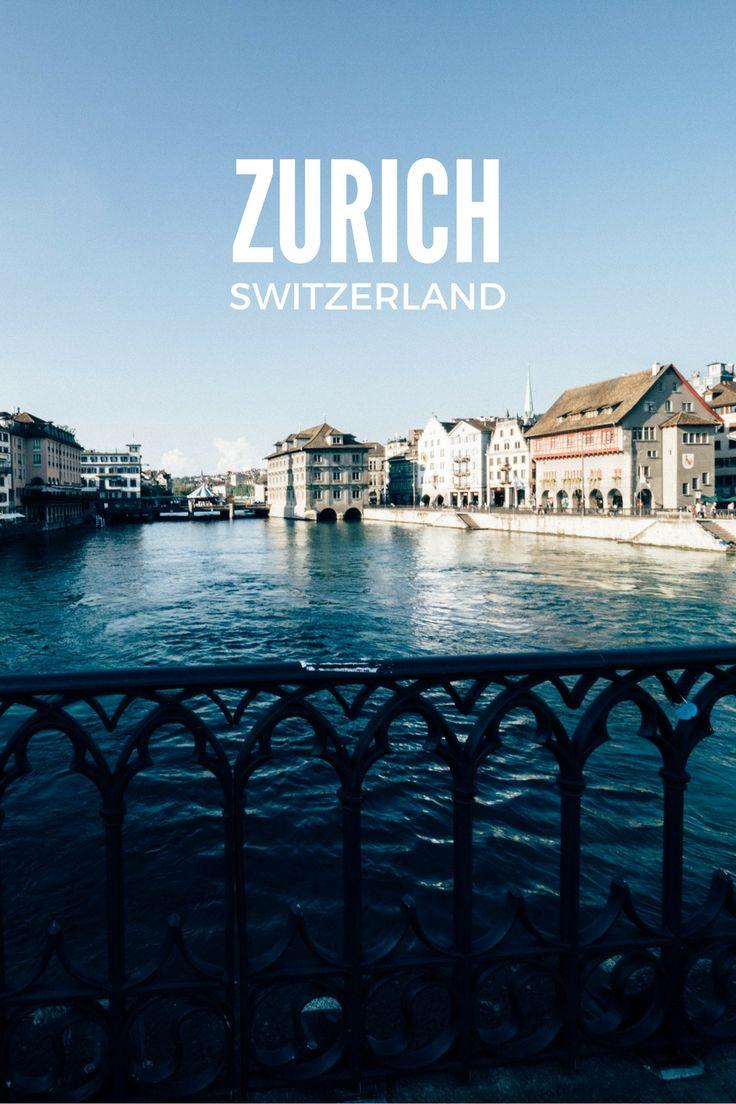Zurich, Switzerland - Rear View Mirror