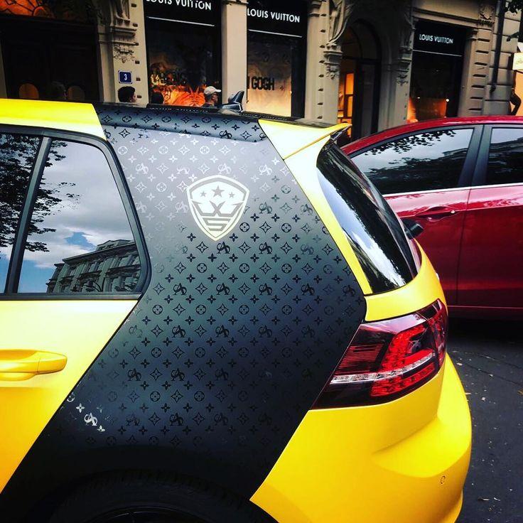 """209 Likes, 3 Comments - Martin Turecek CEO WrapStyle (@martin_wrapstyle) on Instagram: """"WrapStyle & Louis Vuitton ♂️ #inwrapwetrust #louisvuitton #wrapstyle #design #carwrap #vwgolf…"""""""