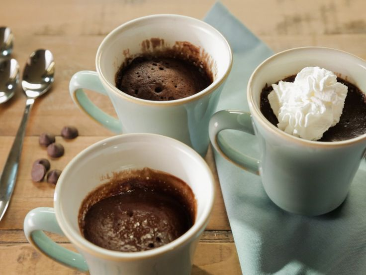 Chocolate Cake in a Mug recipe from Trisha Yearwood via Food Network