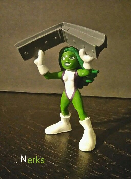 She-hulk 2008 Superhero Squad Hasbro. $20.00 +ship.